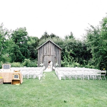 Ruby and Charles' Southern Rustic Themed Wedding at Markham Museum