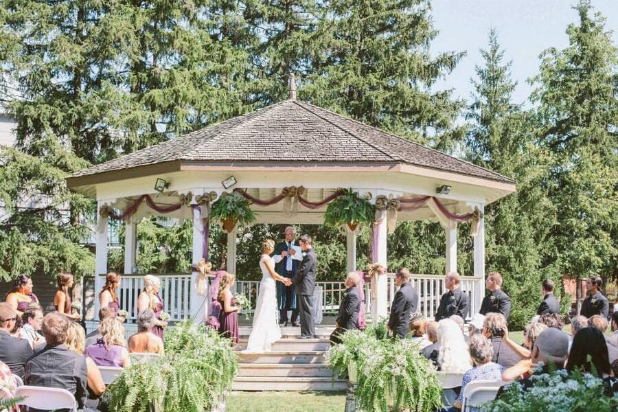Markham Museum Outdoor Wedding Venue