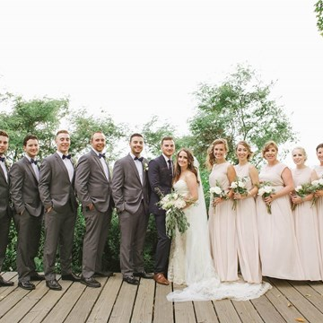 Chelsae and Andrew's Charming Wedding at Palais Royale