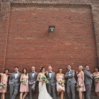 Victoria and James' Romantic Urban Wedding at The Burroughes