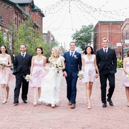 Thumbnail for Brittany and Steve's Romantic Wedding at Toronto's Fermenting…