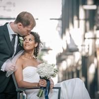 Stephanie and David's Modern Wedding at Origin Restaurant