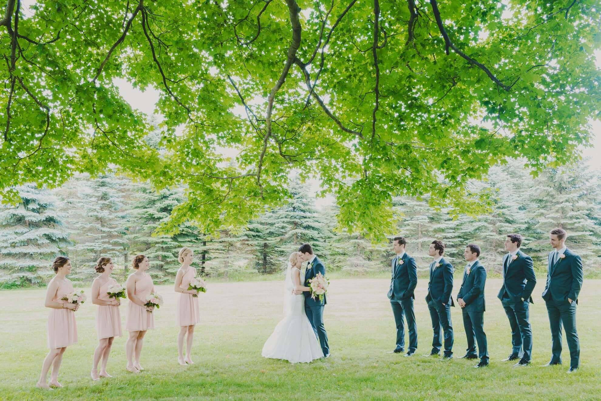 Hero image for Ashli and Jacob's Outdoor Wedding at Belcroft Estates