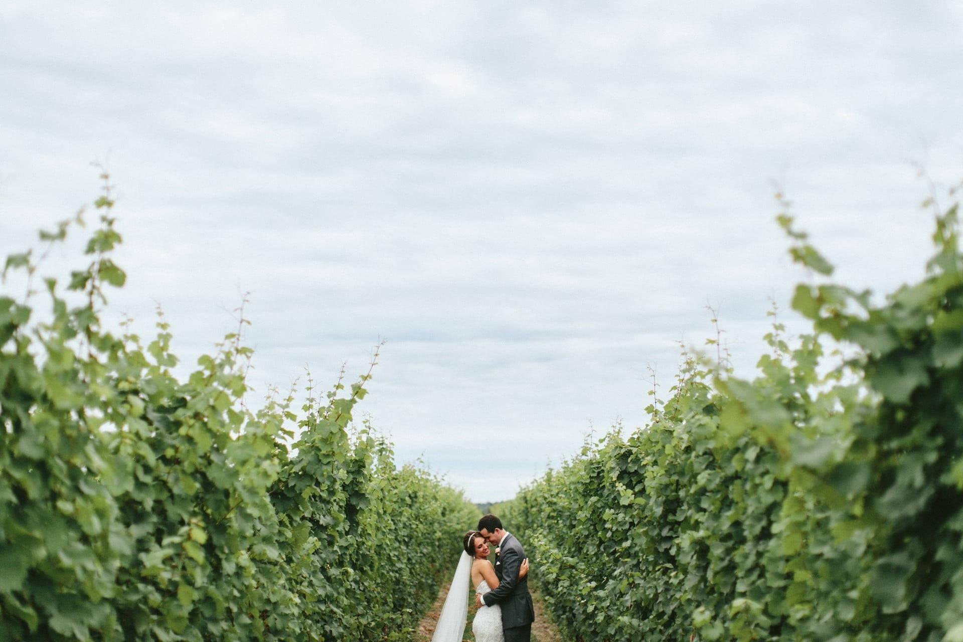 Hero image for Maranda and Chad's Stunning Rustic Wedding at Honsberger Estate