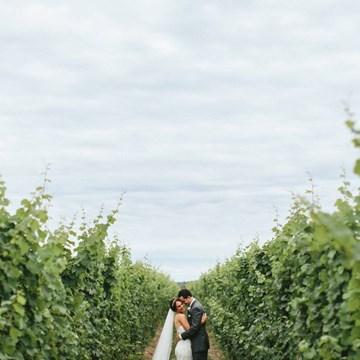 Maranda and Chad's Stunning Rustic Wedding at Honsberger Estate