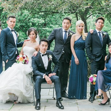 Jessica and Hao's Colourful Wedding at Estates of Sunnybrook