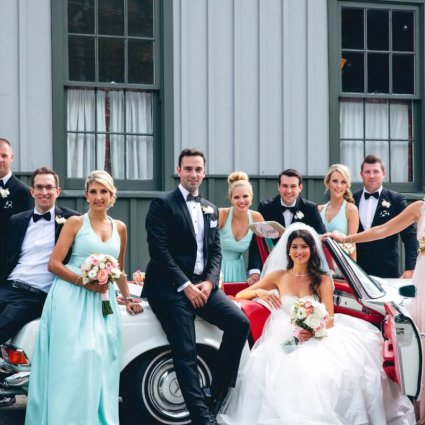 Ashton Creative featured in Victoria and Michael's Playful Wedding at The Granite Club