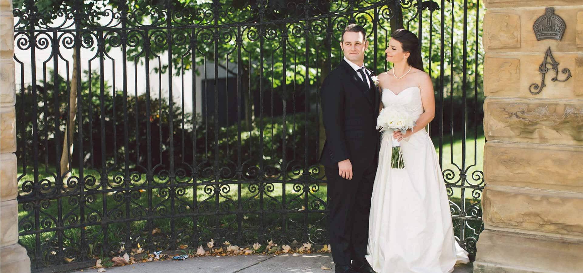 Hero image for Shana and Michael's Wedding at The Bram & Bluma Appel Salon