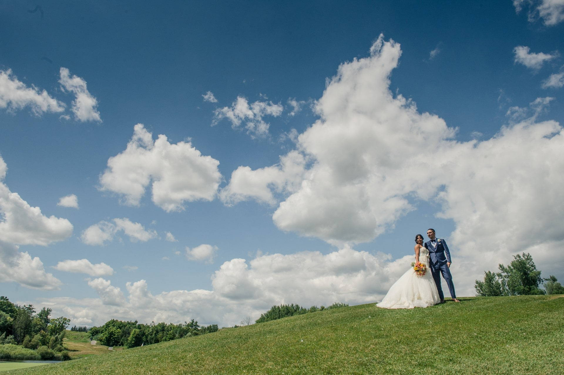 Hero image for Natalie and Milad's Stunning Wedding at Eagles Nest Golf and Country Club