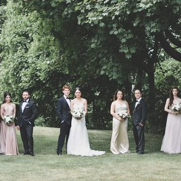 Haley and Elliot's Classically Elegant Wedding at The Estates Of Sunnybrook