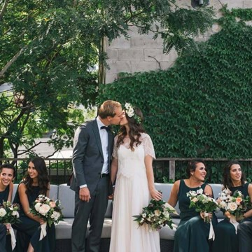 Rayna and Bas' Chic Wedding at Andrew Richard Designs