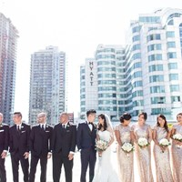 Na-Na and Joseph's Sweet Wedding at Malaparte