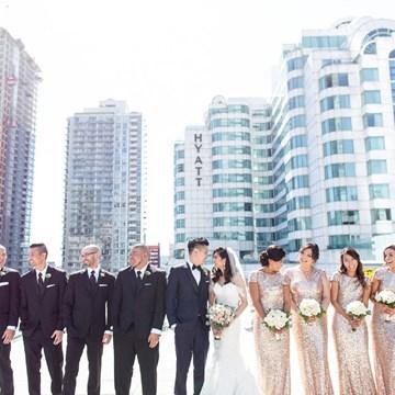 Na-Na and Joseph's Sweet Wedding at Malaparte