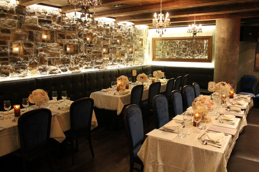 Cheap wedding venues in the gta for Best private dining rooms downtown toronto