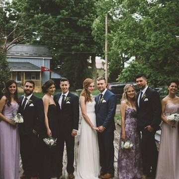 Jess and Conrad's Intimate Wedding At Alton Mill Arts Centre