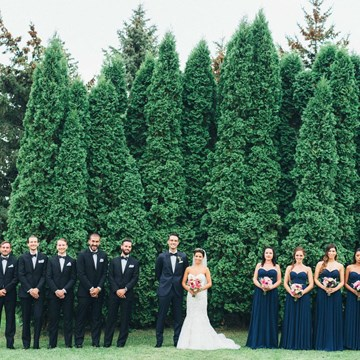 Chloe and Andrew's Glamorous Wedding at The Manor