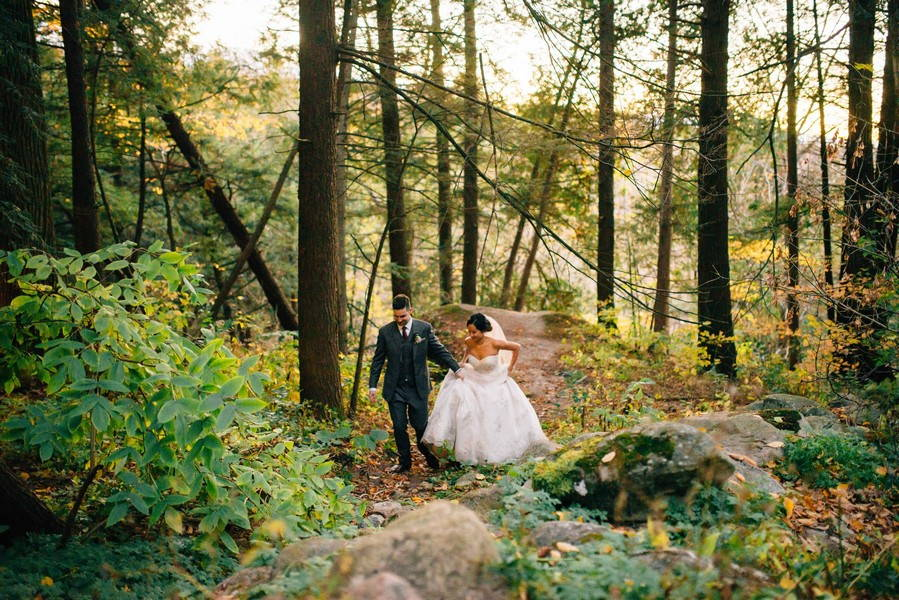 Romantic Fall Wedding