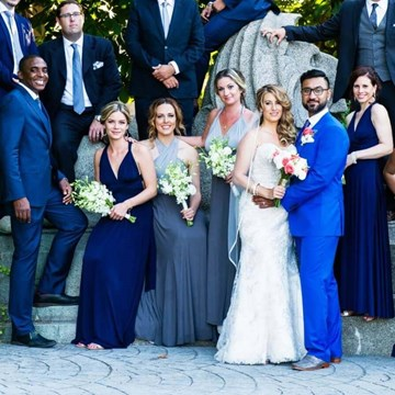 Elissa and Amol's Stunning Two-Day Hindu/Western Wedding