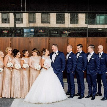 Christina and Daniel's Luxurious Wedding at The Fairmont Royal York