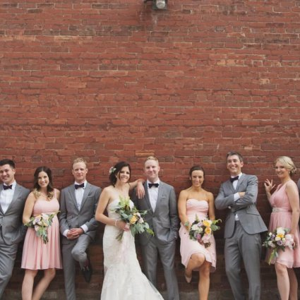 Thumbnail for Victoria and James' Romantic Urban Wedding at The Burroughes