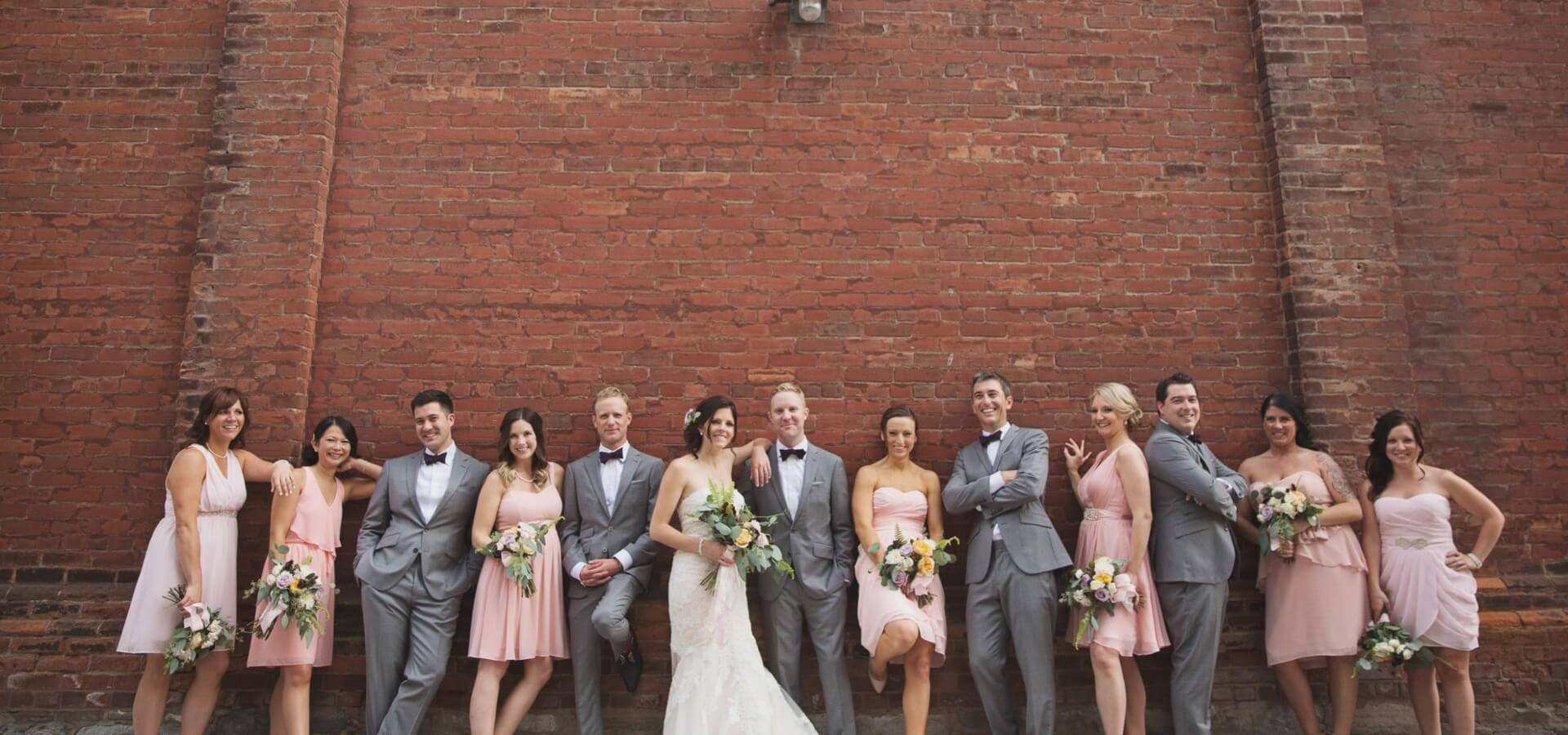 Hero image for Victoria and James' Romantic Urban Wedding at The Burroughes