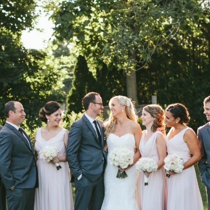 Driftwood Film & Photo featured in Kaitlynn and Michael's Romantic Vineyard Wedding at Stratus V…