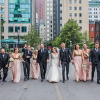 Gillian and Dan's Intimate Wedding at The Rosewater Room