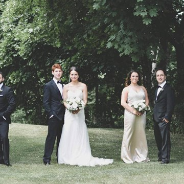 Haley and Elliot's Classically Elegant Wedding at The Estates Of Sunnybrook