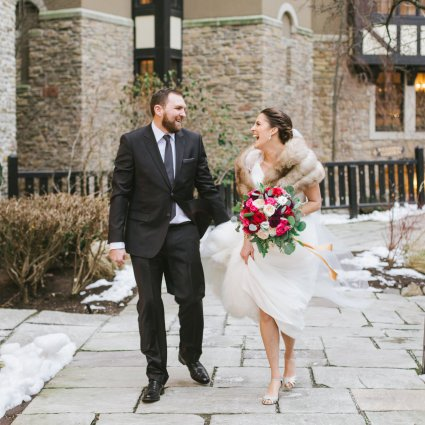 Maple Tree Films featured in Amy and Eryn's Stunning Wedding at Steam Whistle Brewery