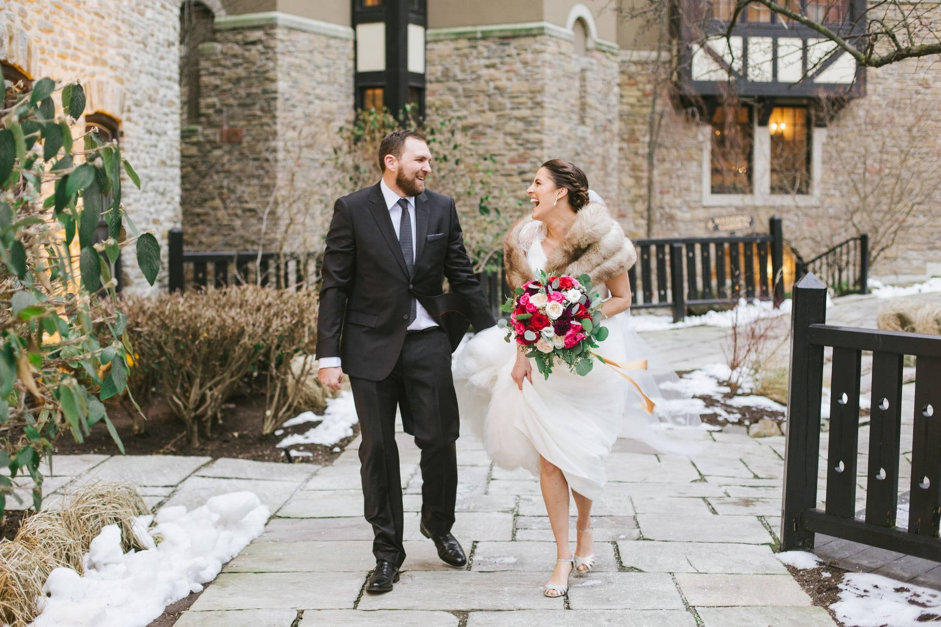 Hero image for Amy and Eryn's Stunning Wedding at Steam Whistle Brewery