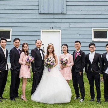 Miao and Kenny's Provence Lavender Farm Themed Wedding at Angus Glen Golf Club