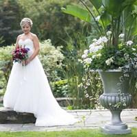 Kalyn and Emmanuel's Romantic Vineyard Wedding at Honsberger Estate