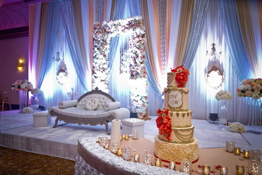 SK Confectionery featured in Toronto's Top Cake Designers Share Their Favourite Wedding Ca…