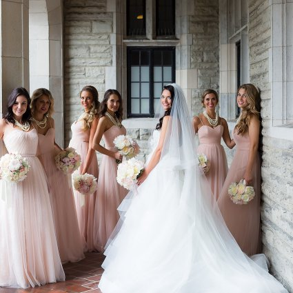 The Beauty Team featured in Patrycia and Eugene's Sweet Wedding At Casa Loma