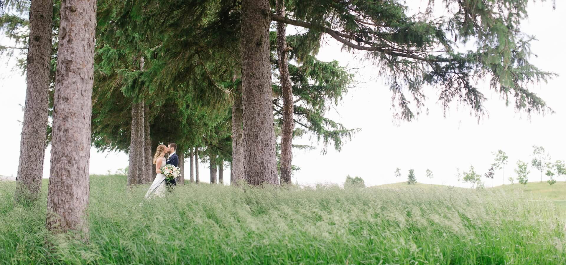 Hero image for Jordana and Aaron's Elegant Wedding at the Whistle Bear Golf Club