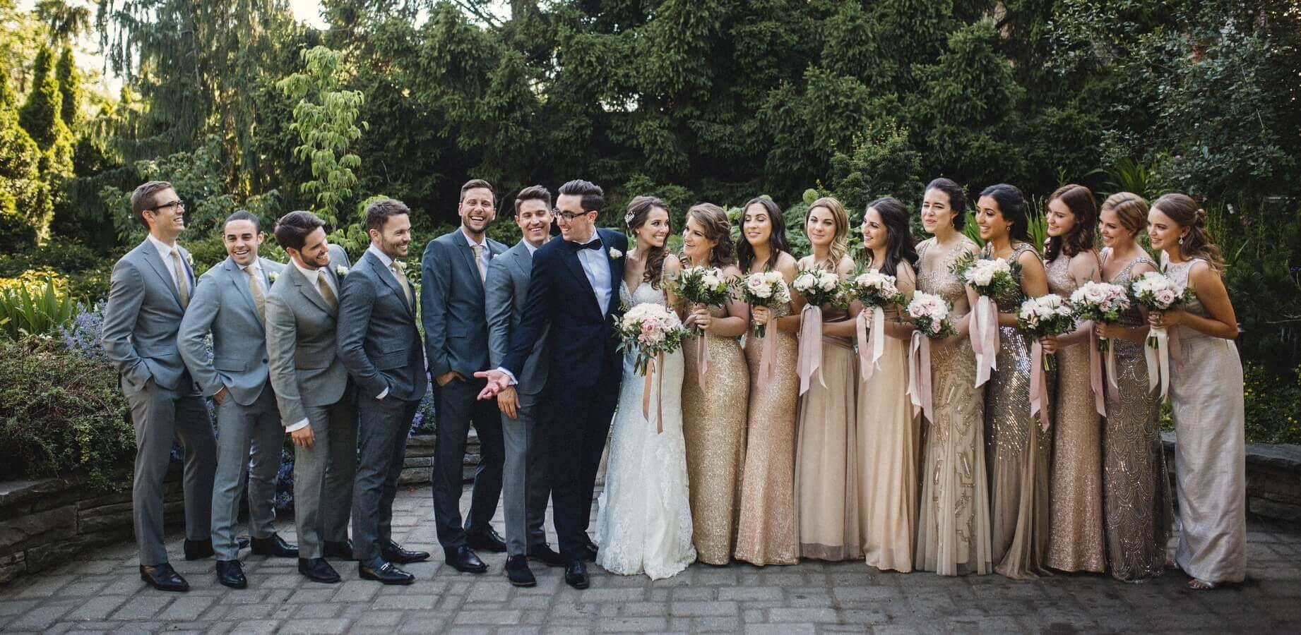 Hero image for Amy and Jason's Romantic Wedding at Casa Loma