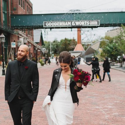Thumbnail for Giordana and Shane's Stunning Fall Wedding At The Fermenting …