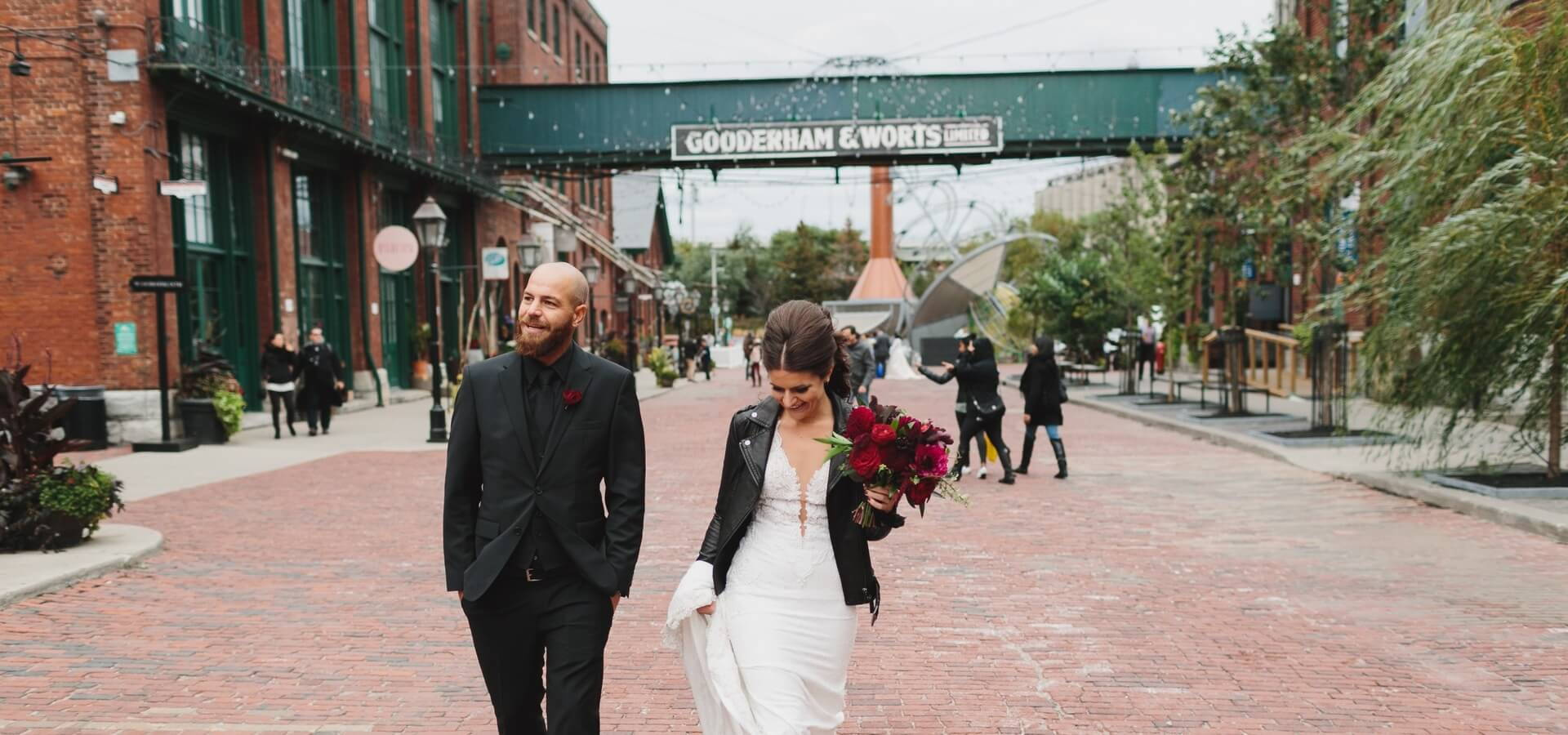 Hero image for Giordana and Shane's Stunning Fall Wedding At The Fermenting Cellar