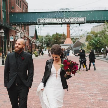 Giordana and Shane's Stunning Fall Wedding At The Fermenting Cellar