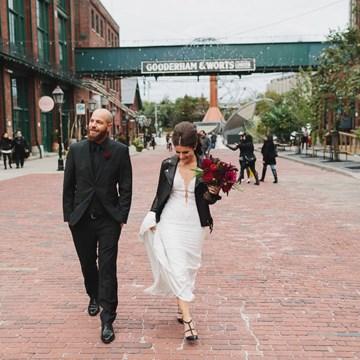 Giordana and Shane's Stunning Fall Wedding At The Fermenting Cellar
