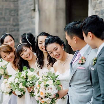 Angel and Guxin's Garden Inspired Wedding at the Estates of Sunnybrook