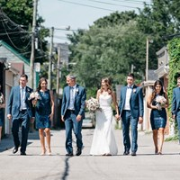 Sarah and Justin's Modern Wedding at The Burroughes