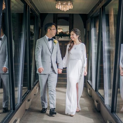 Thumbnail for Vera and Alan's Intimate Wedding at Ancaster Mill