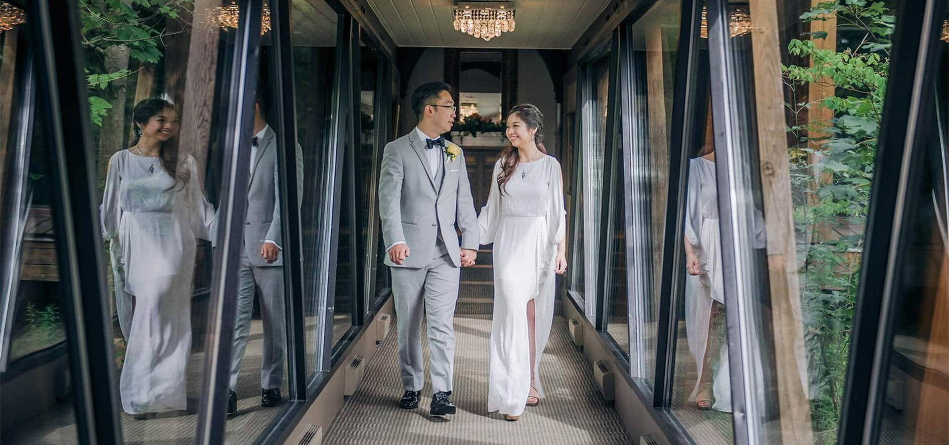 Hero image for Vera and Alan's Intimate Wedding at Ancaster Mill