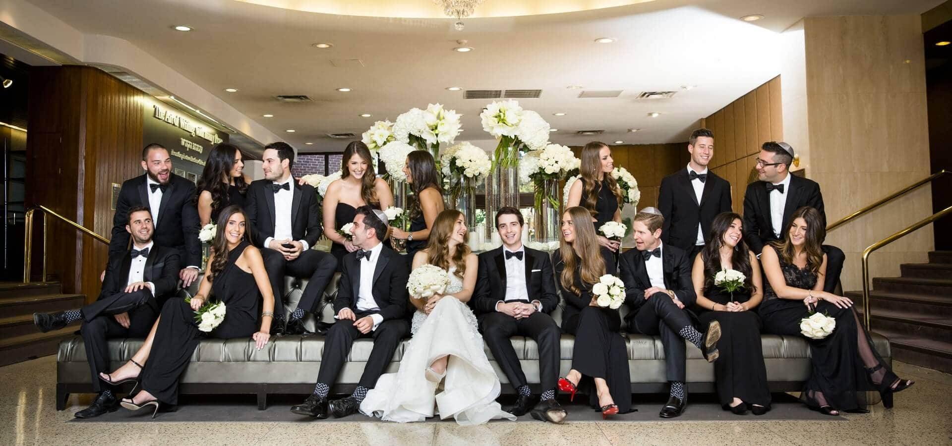 Hero image for Madison and Josh's Stunning Wedding at Adath Israel Synagogue