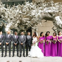 Renée and Husam's Beautiful Wedding at The Shangri-La Hotel, Toronto