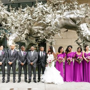 Renée and Husam's Beautiful Wedding at The Shangri-La Hotel, Toronto