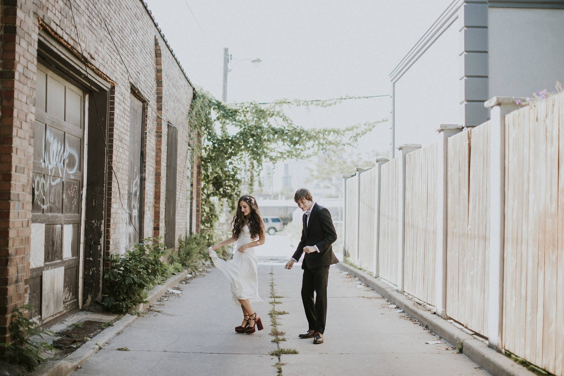 Hero image for Lauryn and Marc's Vintage-Inspired Wedding at District 28