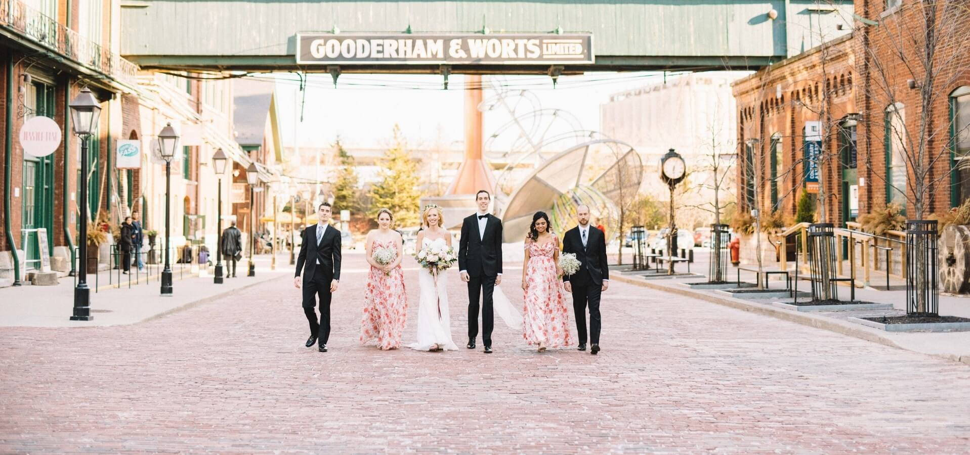 Hero image for Jen and Ben's Intimate Wedding at The Distillery District's Archeo