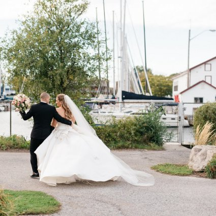 Thumbnail for Hayley and Zack's Elegant Wedding at Queen's Landing